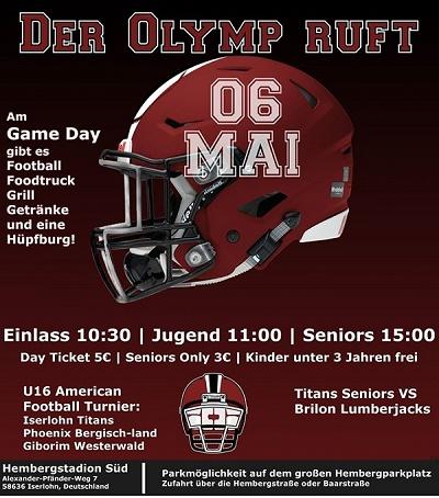 Game Day Invite